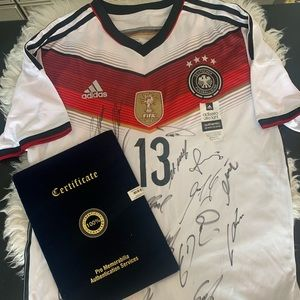 Germany signed jersey